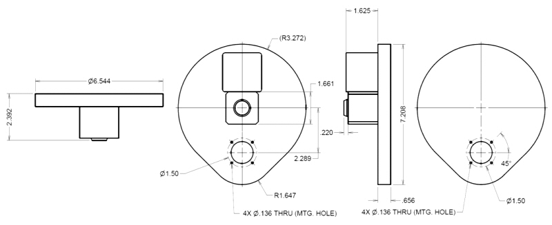 Filter Wheel Dimensions